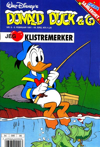 Cover for Donald Duck & Co (Hjemmet / Egmont, 1948 series) #6/1991