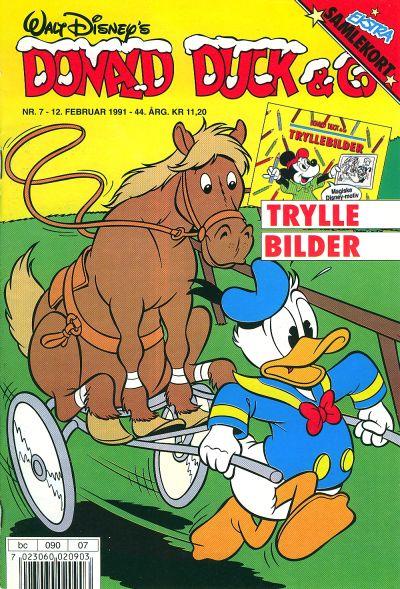 Cover for Donald Duck & Co (Hjemmet / Egmont, 1948 series) #7/1991