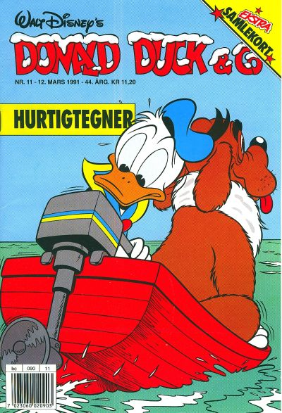 Cover for Donald Duck & Co (Hjemmet / Egmont, 1948 series) #11/1991