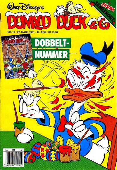 Cover for Donald Duck & Co (Hjemmet / Egmont, 1948 series) #13/1991