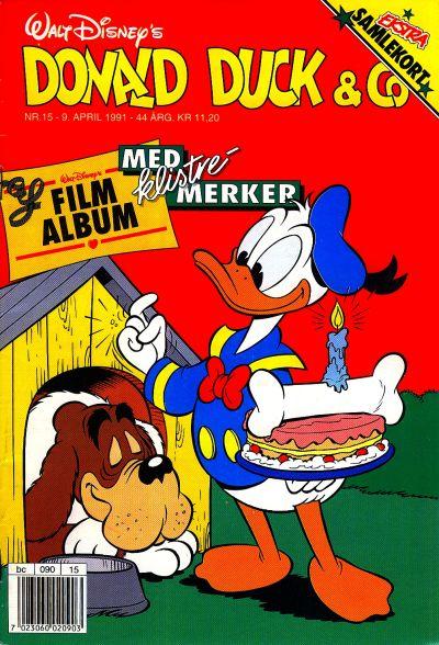 Cover for Donald Duck & Co (Hjemmet / Egmont, 1948 series) #15/1991