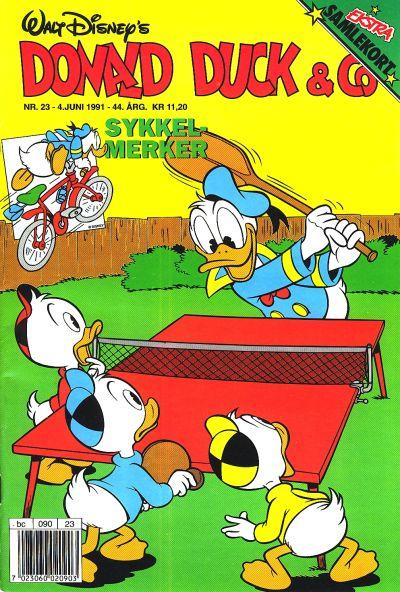 Cover for Donald Duck & Co (Hjemmet / Egmont, 1948 series) #23/1991