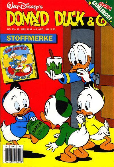 Cover for Donald Duck & Co (Hjemmet / Egmont, 1948 series) #25/1991