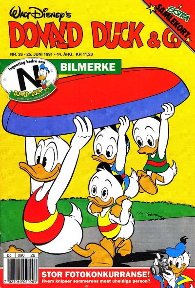 Cover for Donald Duck & Co (Hjemmet / Egmont, 1948 series) #26/1991