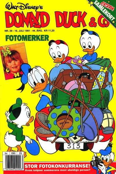 Cover for Donald Duck & Co (Hjemmet / Egmont, 1948 series) #29/1991