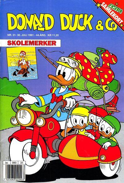 Cover for Donald Duck & Co (Hjemmet / Egmont, 1948 series) #31/1991