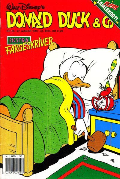 Cover for Donald Duck & Co (Hjemmet / Egmont, 1948 series) #35/1991