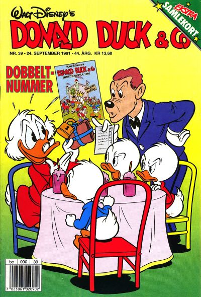 Cover for Donald Duck & Co (Hjemmet / Egmont, 1948 series) #39/1991