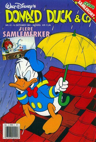 Cover for Donald Duck & Co (Hjemmet / Egmont, 1948 series) #41/1991