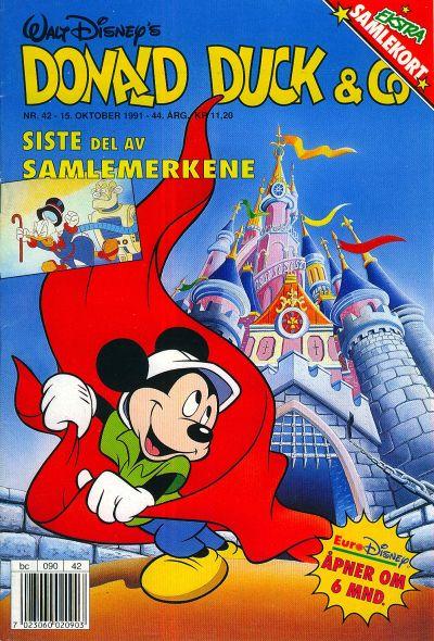 Cover for Donald Duck & Co (Hjemmet / Egmont, 1948 series) #42/1991