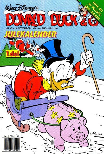 Cover for Donald Duck & Co (Hjemmet / Egmont, 1948 series) #47/1991