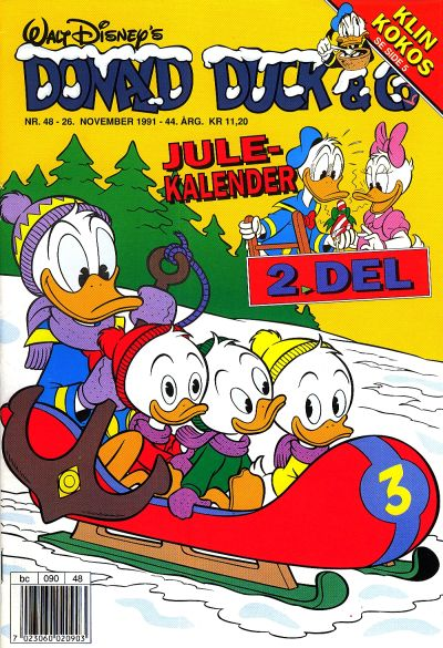 Cover for Donald Duck & Co (Hjemmet / Egmont, 1948 series) #48/1991