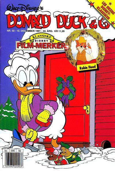 Cover for Donald Duck & Co (Hjemmet / Egmont, 1948 series) #50/1991