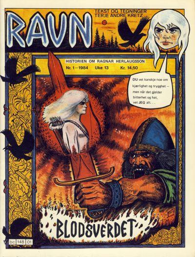 Cover for Ravn (Bladkompaniet / Schibsted, 1984 series) #1/1984