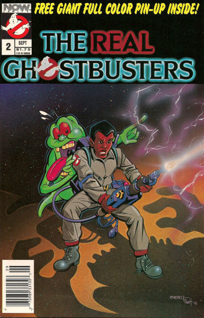 Cover for The Real Ghostbusters (Now, 1988 series) #2