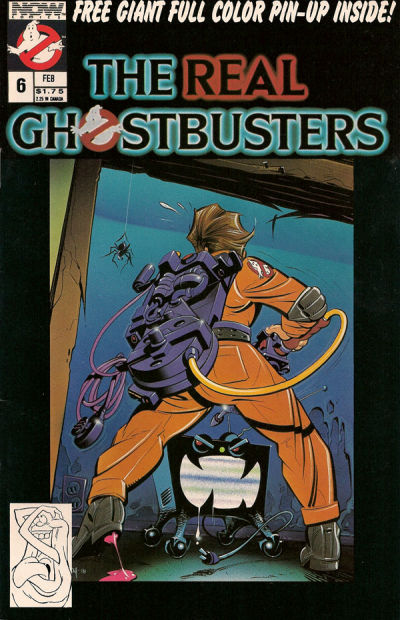 Cover for The Real Ghostbusters (Now, 1988 series) #6