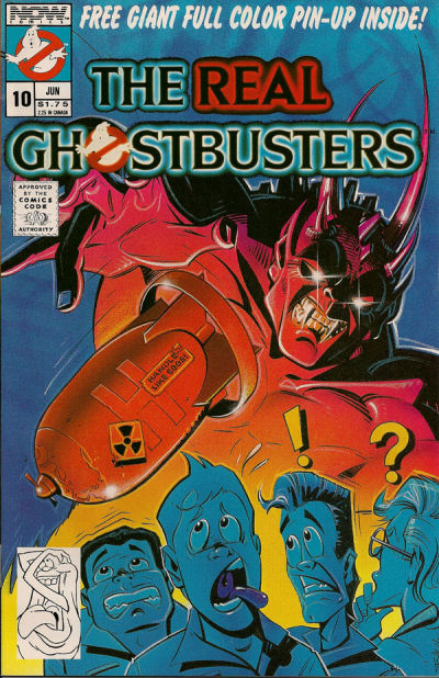 Cover for The Real Ghostbusters (Now, 1988 series) #10