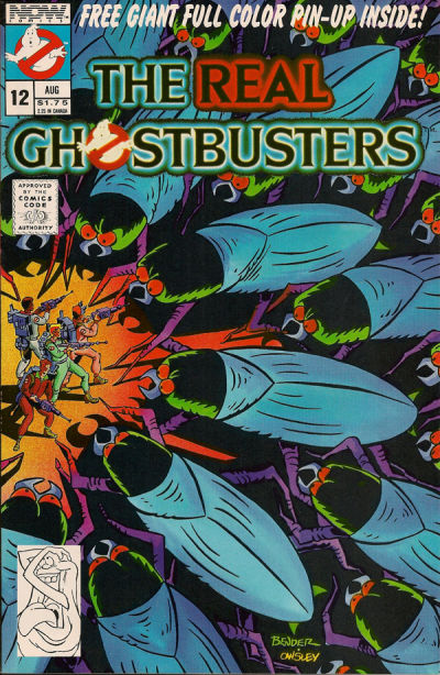 Cover for The Real Ghostbusters (Now, 1988 series) #12