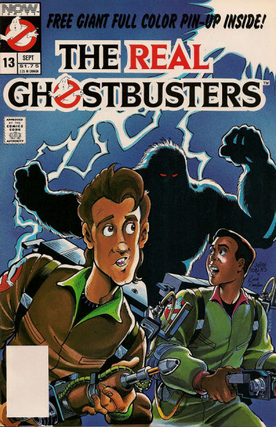 Cover for The Real Ghostbusters (Now, 1988 series) #13