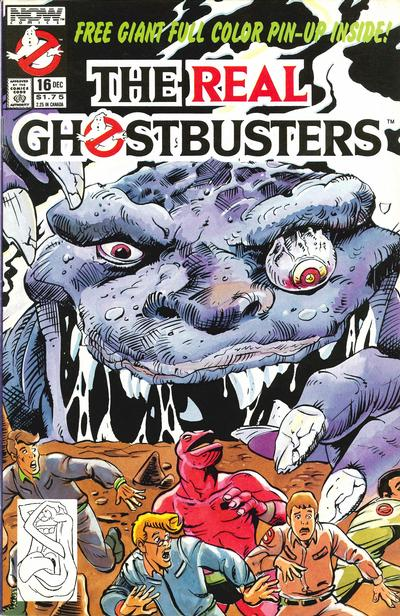 Cover for The Real Ghostbusters (Now, 1988 series) #16