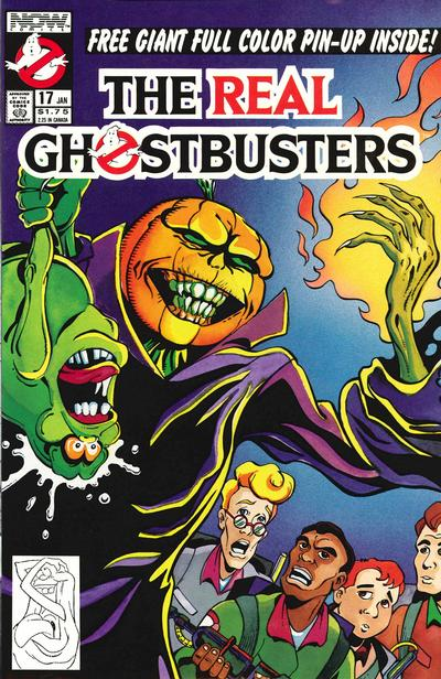 Cover for The Real Ghostbusters (Now, 1988 series) #17