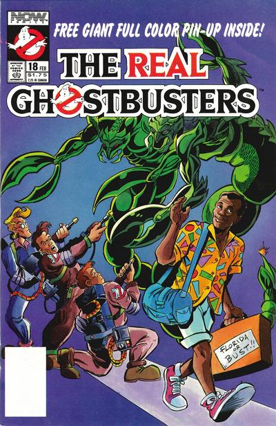 Cover for The Real Ghostbusters (Now, 1988 series) #18