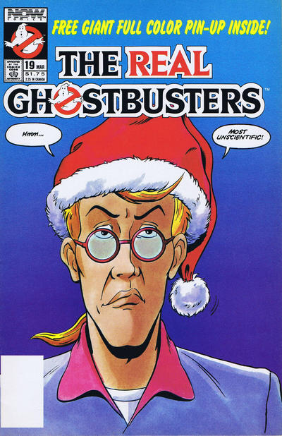 Cover for The Real Ghostbusters (Now, 1988 series) #19