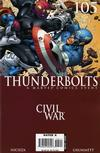 Cover for Thunderbolts (Marvel, 2006 series) #105