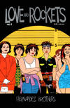 Cover for Love and Rockets (Fantagraphics, 2000 series) #1