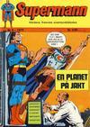 Cover for Supermann (Illustrerte Klassikere / Williams Forlag, 1969 series) #8/1972