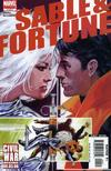 Cover for Sable & Fortune (Marvel, 2006 series) #4