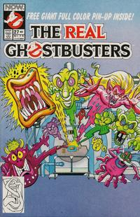 Cover for The Real Ghostbusters (Now, 1988 series) #27