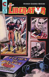 Cover Thumbnail for The Liberator (Malibu, 1987 series) #4