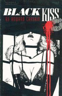 Cover Thumbnail for Black Kiss (Vortex, 1988 series) #1