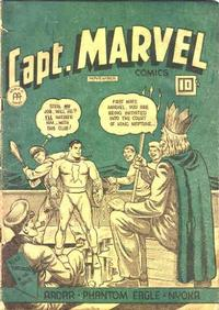 Cover Thumbnail for Captain Marvel Comics (Anglo-American Publishing Company Limited, 1942 series) #v4#11