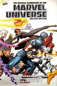 Cover Thumbnail for Essential Official Handbook of the Marvel Universe - Deluxe Edition (Marvel, 2006 series) #1