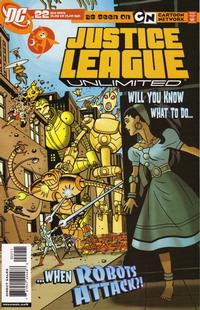 Cover Thumbnail for Justice League Unlimited (DC, 2004 series) #22