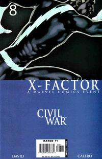 Cover Thumbnail for X-Factor (Marvel, 2006 series) #8