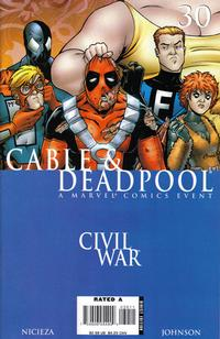 Cover Thumbnail for Cable & Deadpool (Marvel, 2006 series) #30 [Direct Edition]