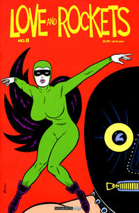 Cover Thumbnail for Love and Rockets (Fantagraphics, 2000 series) #8