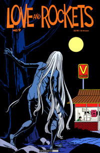 Cover for Love and Rockets (Fantagraphics, 2000 series) #9