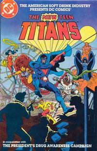 Cover Thumbnail for The New Teen Titans [American Soft Drink Industry] (DC, 1983 series) #[2]