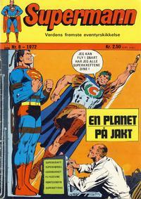 Cover Thumbnail for Supermann (Illustrerte Klassikere / Williams Forlag, 1969 series) #8/1972