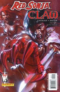 Cover Thumbnail for Red Sonja / Claw: The Devil's Hands (DC, 2006 series) #2 [Cover A]