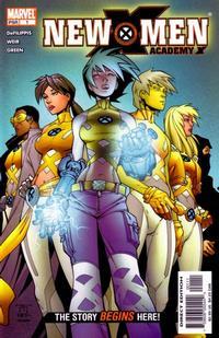 Cover Thumbnail for New X-Men (Marvel, 2004 series) #1