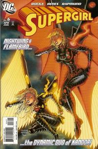 Cover Thumbnail for Supergirl (DC, 2005 series) #6 [Ian Churchill / Norm Rapmund Cover]