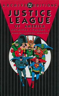 Cover Thumbnail for Justice League of America Archives (DC, 1992 series) #5