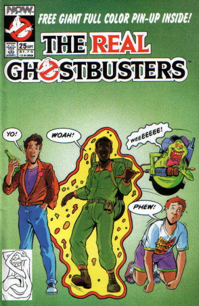 Cover for The Real Ghostbusters (Now, 1988 series) #25