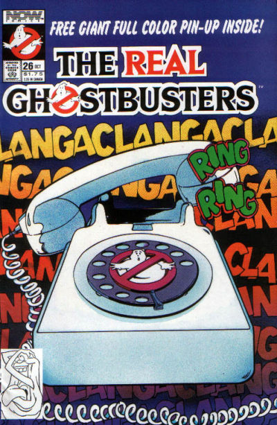 Cover for The Real Ghostbusters (Now, 1988 series) #26