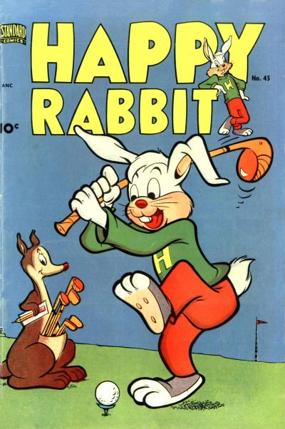 Cover for Happy Rabbit (Pines, 1951 series) #45